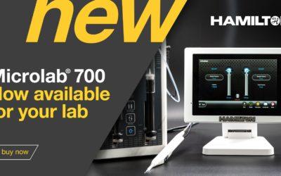 Nowy Microlab 700 – już dostępny dla Twojego laboratorium