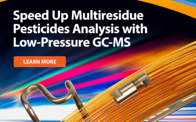 Analyze pesticides 3x faster with LPGC-MS